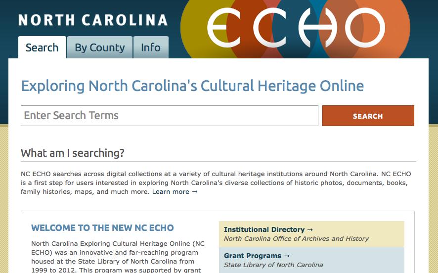 หน้าเว็บ NC ECHO